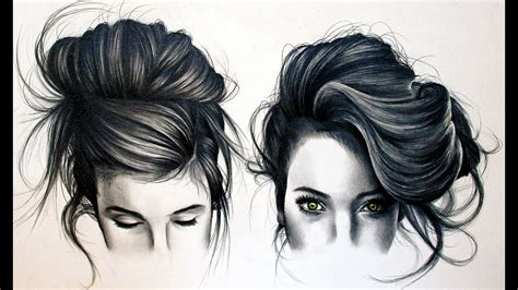 Sketches Hair by How To Draw Black Hair