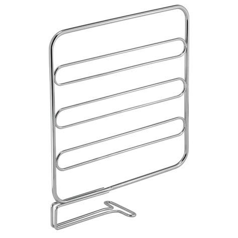 Chrome Shelf Dividers shop interdesign chrome classico shelf divider set at