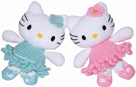 pattern crochet hello kitty ravelry hello kitty ballerina amigurumi pattern by mistys