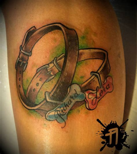 collar tattoos images designs