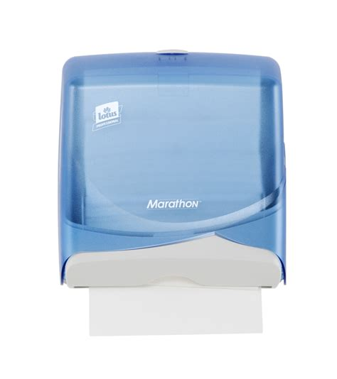 paper towel dispenser lotus marathon blue mini