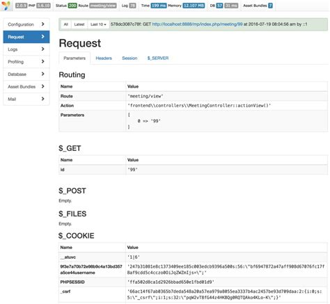 yii2 query tutorial programming with yii2 using the debugger