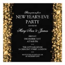 new years invitations announcements zazzle