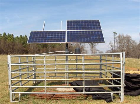 livestock well solar panel cost innovative projects solar powered well and gravity