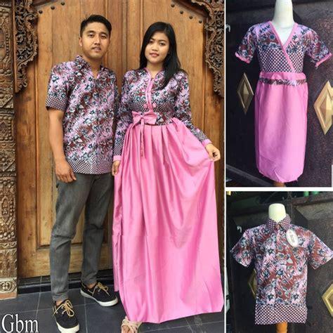 Jual Baju Gamis Keluarga 16 model baju batik keluarga modern elegantria