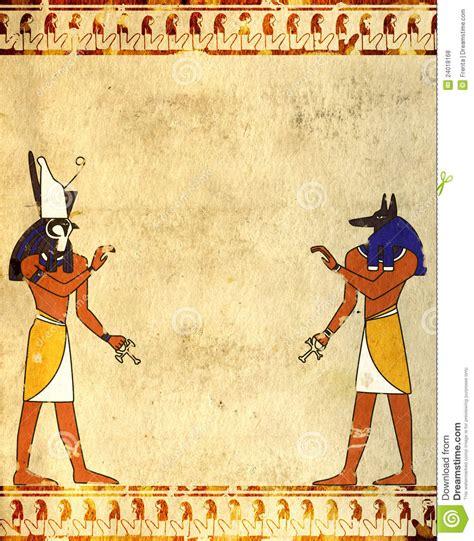 imagenes egipcias anubis anubis y horus fotos de archivo libres de regal 237 as