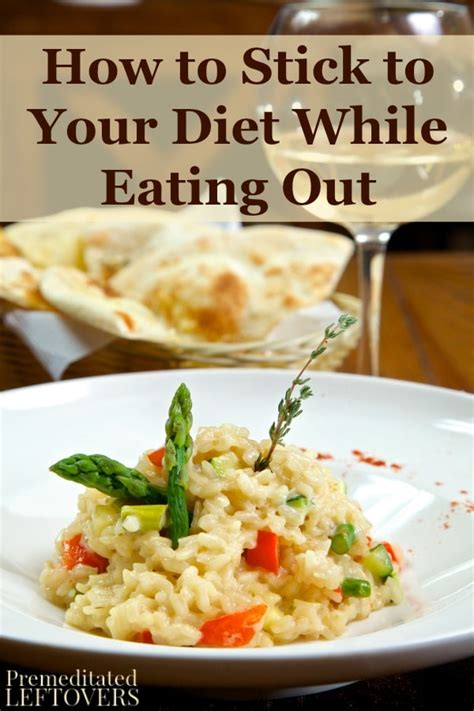 the restaurant diet how to eat out every and still lose weight books how to stick to your diet while out