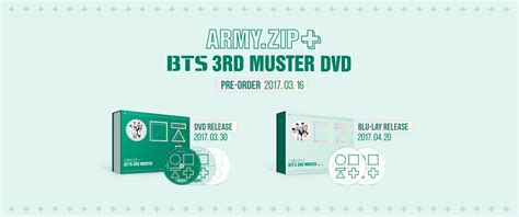 Bts 3rd Muster Army Zip Blue bts 3rd muster army zip
