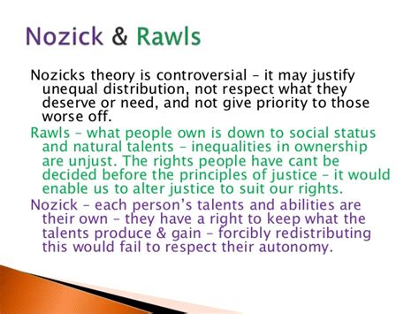 nozick patterned theory justice