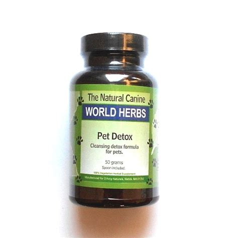 Vaccine Homeopathic Detox Dogs by Canine Herbal Pet Detox