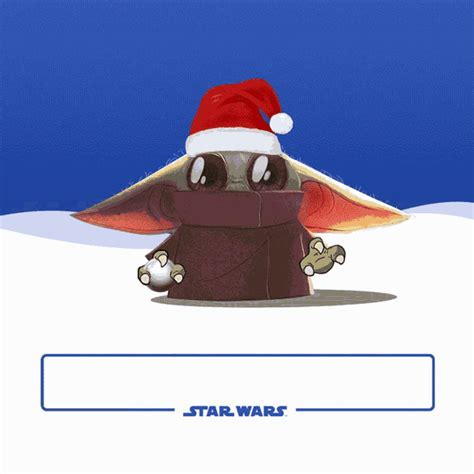 merry christmas xmas gif merrychristmas xmas yoda discover share gifs