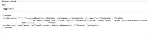 adsense joomla 1 5 add google adsense code into joomla 2 5 article