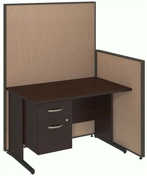 Cubical Desk by Propanel Complete Cubicle Packages 48 Quot W Cubicle W Desk