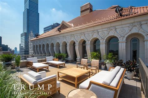 penthouse trump donald trump lists penthouse apartment at trump park avenue
