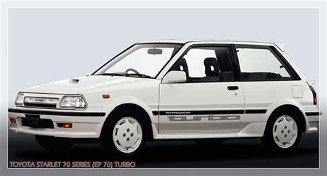 Lu Depan Toyota Starlet Bekas mobil sedan bekas dan murah bergaya retro klasik