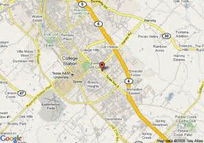 map of ez travel inn college station