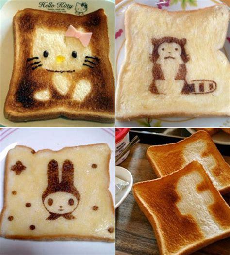 cara membuat roti tawar lucu foto inilah beberapa kreasi roti panggang yang lucu