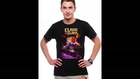 tshirt coc peka coc clash of clans t shirt