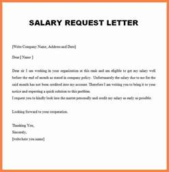 6 exle salary increase letter salary slip