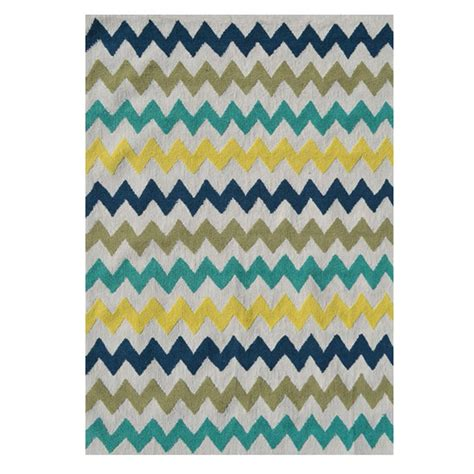 home design 7 x 10 filament design chevron multi 7 ft x 10 ft indoor area