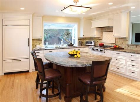 Island Table Kitchen by Small Kitchen With Island Table A Small Kitchen Island With A