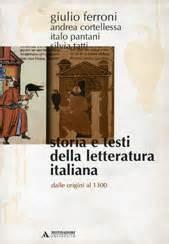 storia e testi della letteratura giulio ferroni storia e testi della letteratura italiana