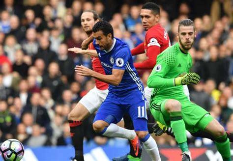 chelsea pertandingan laporan pertandingan chelsea fc 4 0 manchester united fc