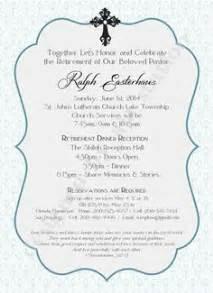 Invitation Letter Pastor Appreciation pastor retirement party invitations and pastor appreciation gifts