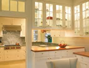 Kitchen Cabinets With Glass Doors On Both Sides Beautiful Glass Cabinets For Your Kitchen