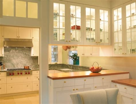 Kitchen Cabinets With Glass Doors by Simple Ideas To Change Your Kitchen With Glass