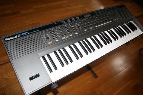 Keyboard Roland U20 roland e 20 image 1067121 audiofanzine