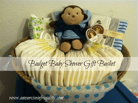 Gifts For A Baby Shower by Baby Shower Gift Basket Diy Easy Craft Ideas