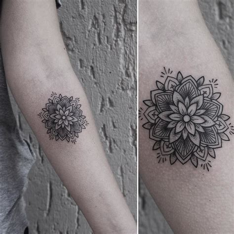 small mandala tattoos small mandala for today thank you rachainsworth