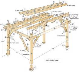Arbor Building Plans Pdf Diy Simple Pergola Building Plans Download Simple Wood