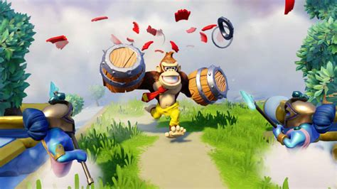 Kaos Pixels 06 skylanders superchargers enlists amiibo crossover bowser and kong figures for nintendo