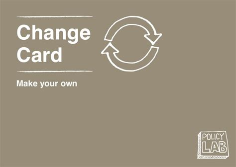make your own change of address cards policy lab change cards make your own