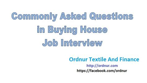 questions to ask when buying a house buying house interview questions ordnur textile and finance