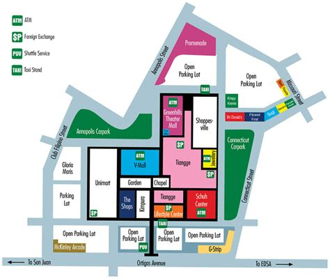 layout of green hills mall infoholics how to get to greenhills shopping center