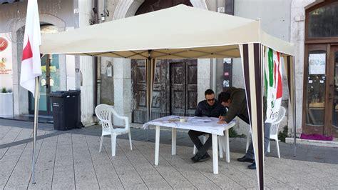 gazebo pd gazebo pd in piazza sul puc piovono critiche dalle