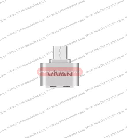 Otg Vivan Voc U20 Micro Usb Adapter With Data Cable Garansi 1 Tahun connector otg micro usb vivan