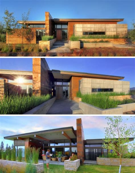 modern desert home design prairie style architecture rustic modern earth wood
