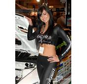 Time Attack Promo Girl At Autosport International Show