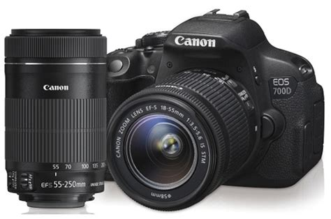 canon reflex reflex canon eos 700d 18 55mm is stm 55 250mm is stm