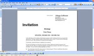 meeting invitation sample wording search results