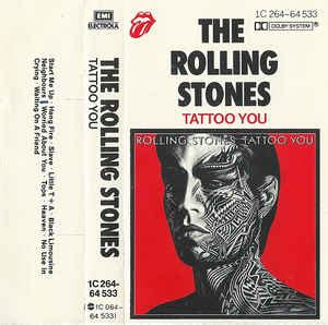 tattoo you album the rolling stones you cassette album at discogs