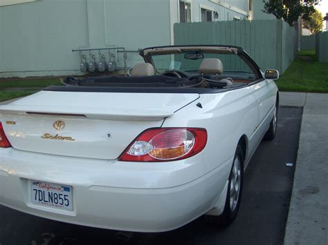 2002 Toyota Solara Convertible Reviews 2002 Toyota Camry Solara Pictures Cargurus