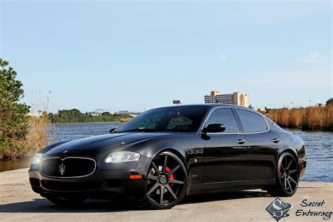 maserati blacked a black white maserati love affair secret entourage