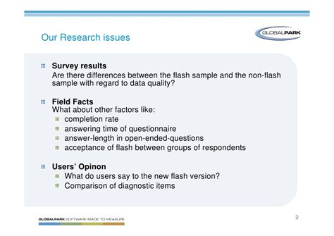 Or Or Swear Questions Using Flash Type Questions Stroke Of Luck Or Curse For Data Quality
