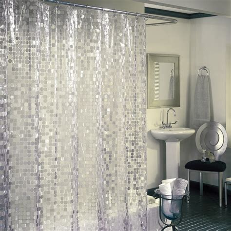 excell shower curtain excell disco 7 gauge vinyl shower curtain free shipping
