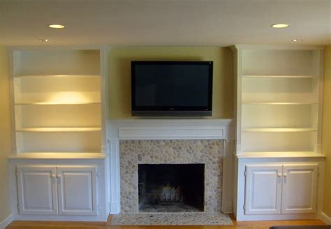 Fireplace Cabinets by Fireplace Mantel Cabinets Den